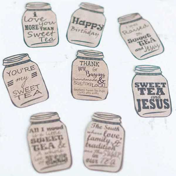customizable mason jar tags